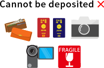 Cannot be deposited